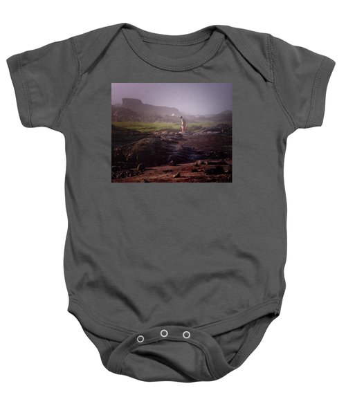 Searching For Shells Baby Onesie