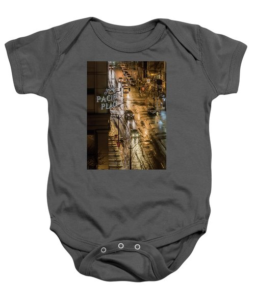 Seattle's 6th And Pine Baby Onesie