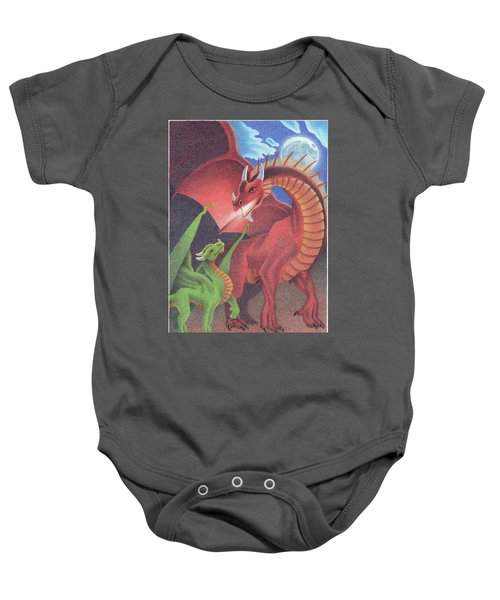 Secrets Of The Flame Baby Onesie