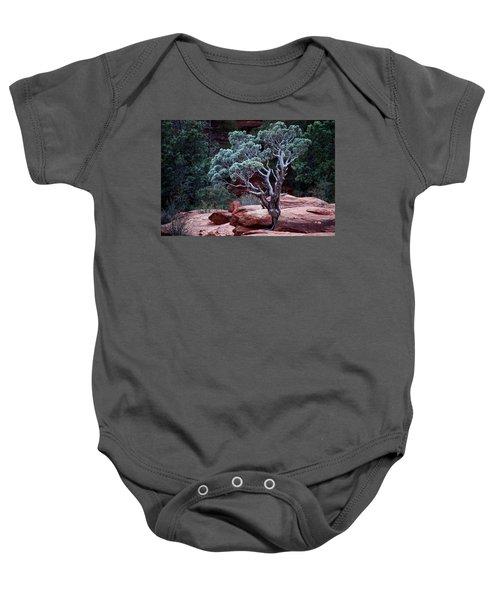 Sedona Tree #3 Baby Onesie
