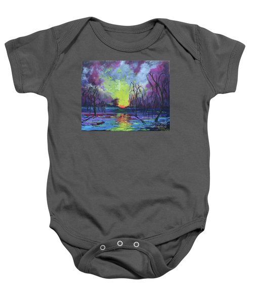 Seeing Through The Truth Baby Onesie