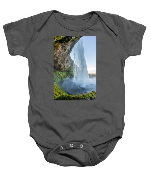 Seljalandsfoss Baby Onesie