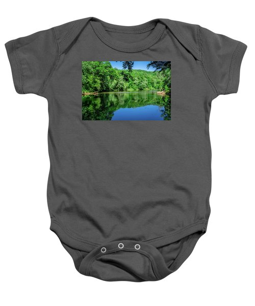 Semi Placid Stream Baby Onesie