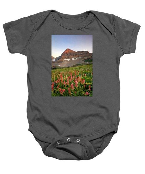 September Wildflowers Baby Onesie