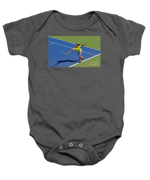 Serena Williams 1 Baby Onesie by Nishanth Gopinathan