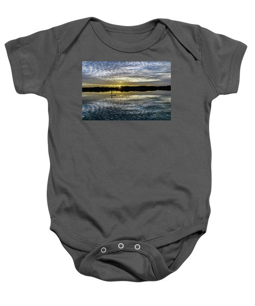 Serenity On A Paddleboard Baby Onesie
