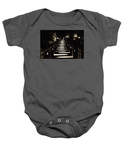 Serpentine Shadow Baby Onesie