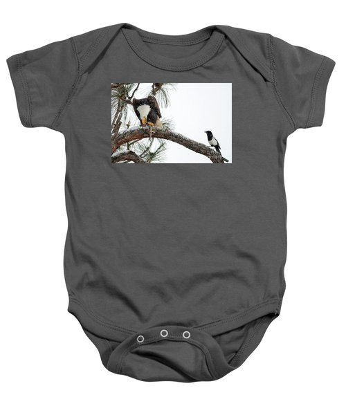 Share The Wealth Baby Onesie by Mike Dawson