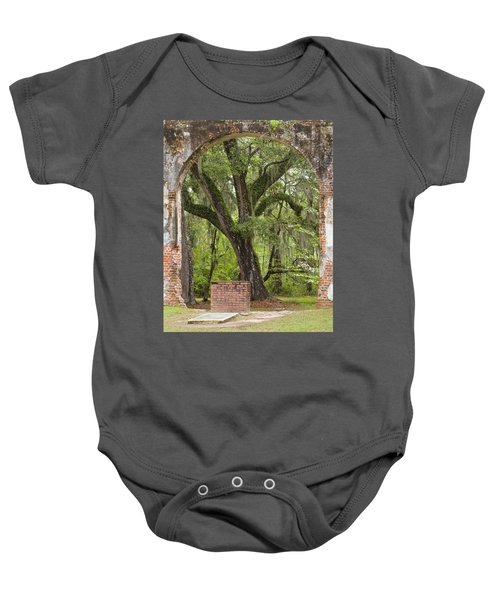 Sheldon Church Riuns - View From The Inside Baby Onesie