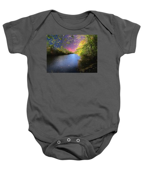 Shetucket River Ct. Baby Onesie