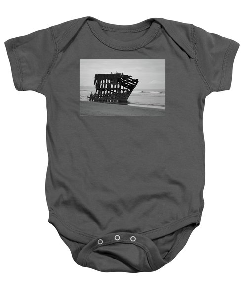 Shipwreck On The Shore Baby Onesie