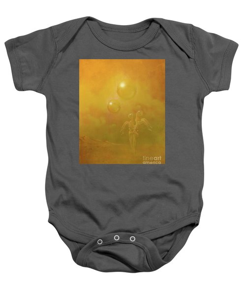 Shipwrecked Lovers Baby Onesie