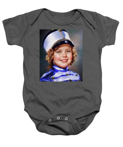 Shirley Temple, Vintage Actress Baby Onesie