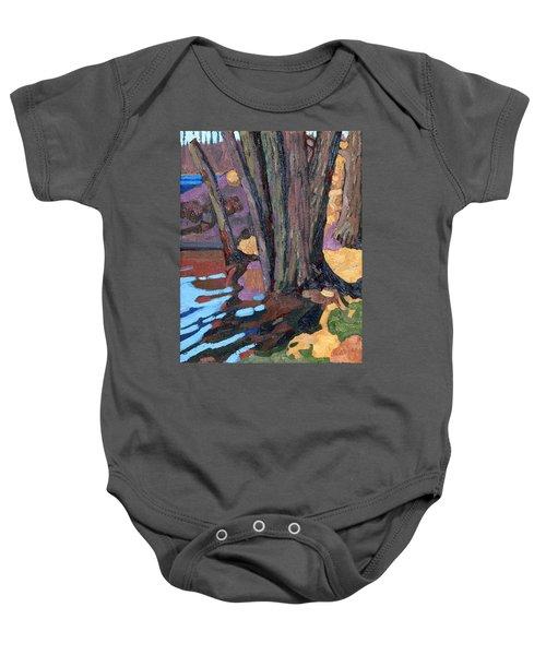 Shoreline Maples Baby Onesie