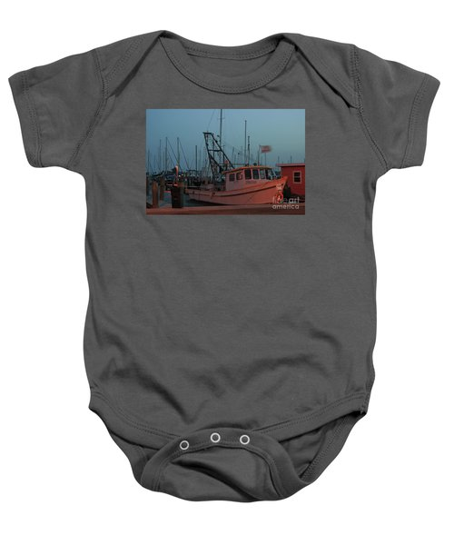 Shrimp Boat Baby Onesie