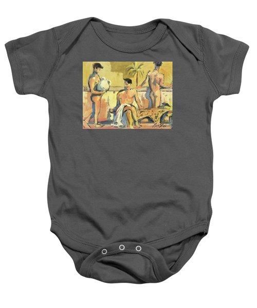 Sicilian Boys Baby Onesie