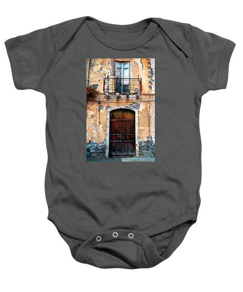 Sicilian Facade Baby Onesie