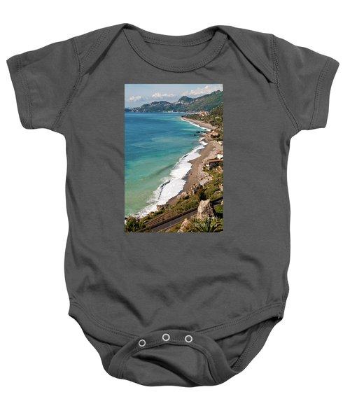Sicilian Sea Sound Baby Onesie