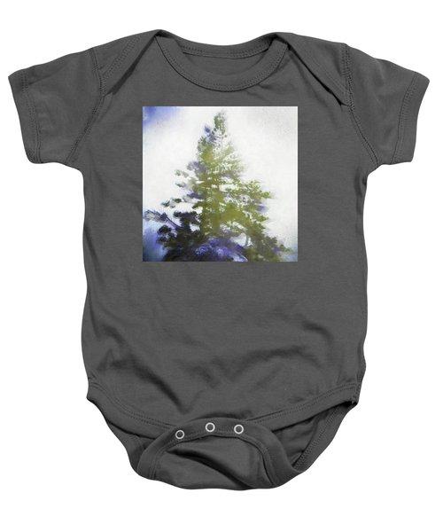 Sierra Book Pines Baby Onesie