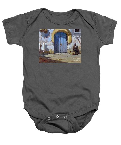 Siesta Time In Naples Baby Onesie