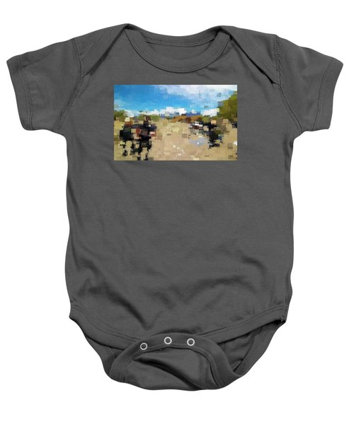 What Do You See? Baby Onesie