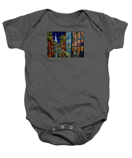 Silent Night Baby Onesie