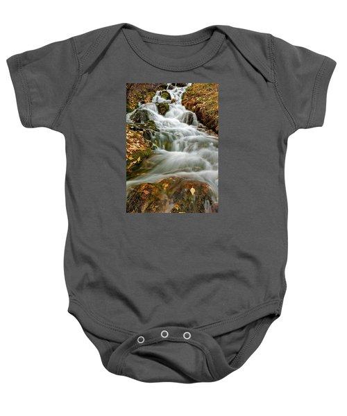 Silky Waterfall Baby Onesie