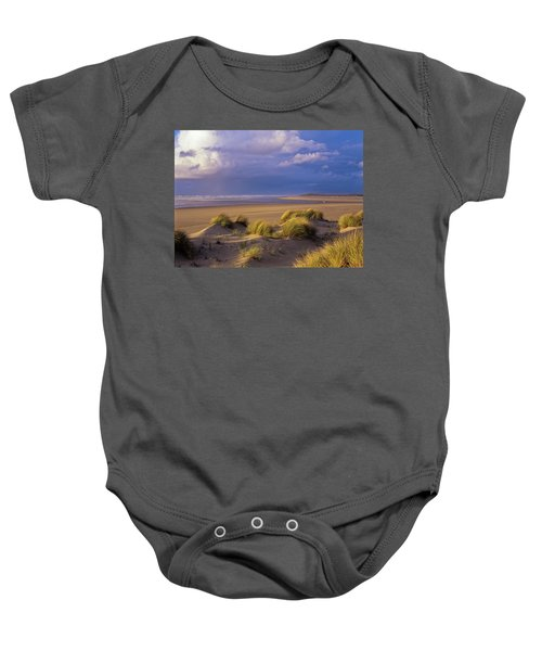 Siltcoos River Mouth Baby Onesie