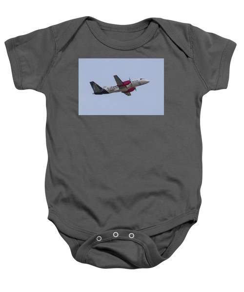 Silver Air Baby Onesie