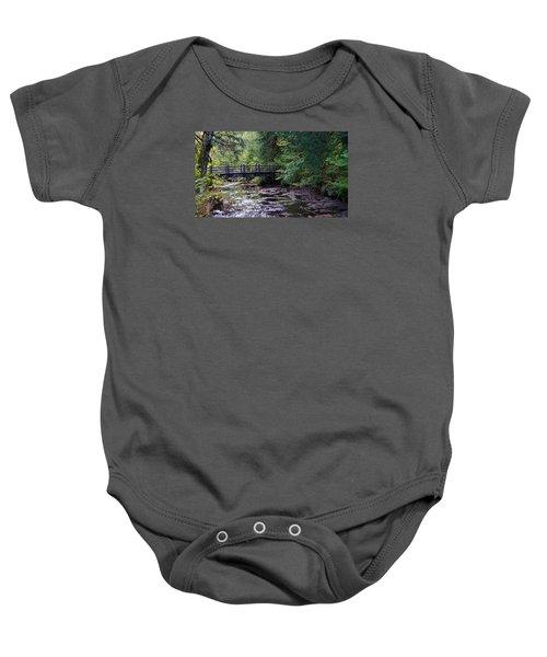 Silver Creek Falls #38 Baby Onesie