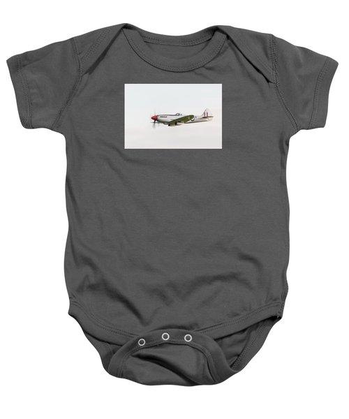 Silver Spitfire Fr Xviiie Baby Onesie by Gary Eason