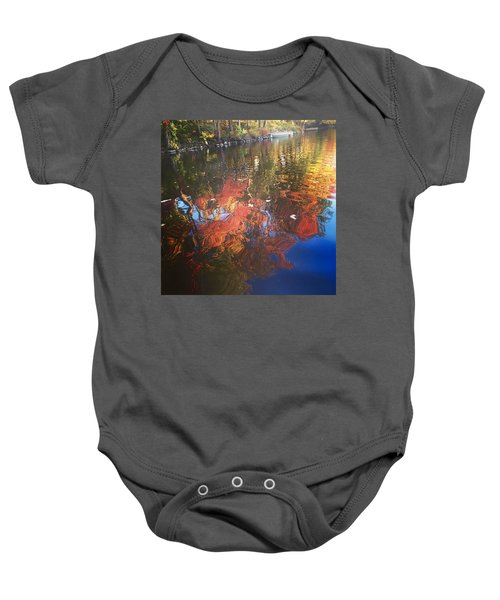 Simply Sensations Seasonal Swirls Baby Onesie