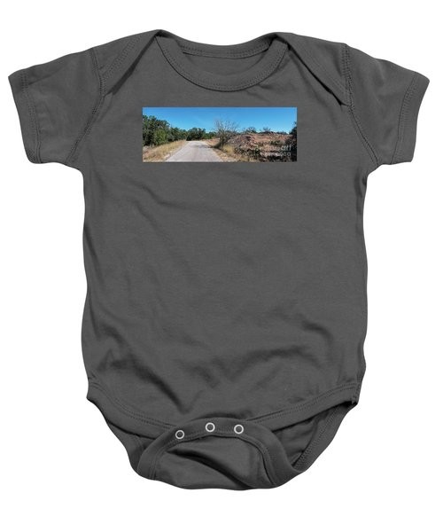 Single Lane Road In The Hill Country Baby Onesie
