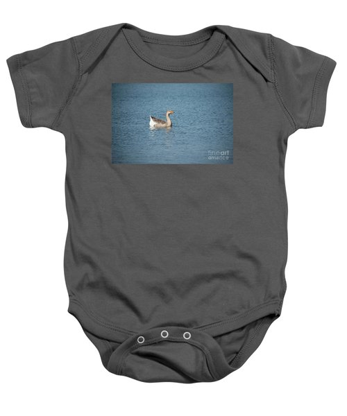 Single Swimmer Baby Onesie