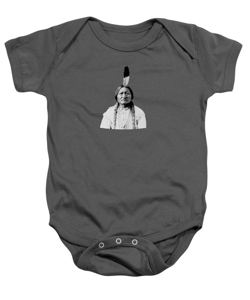 Sioux Chief Sitting Bull Baby Onesie by War Is Hell Store