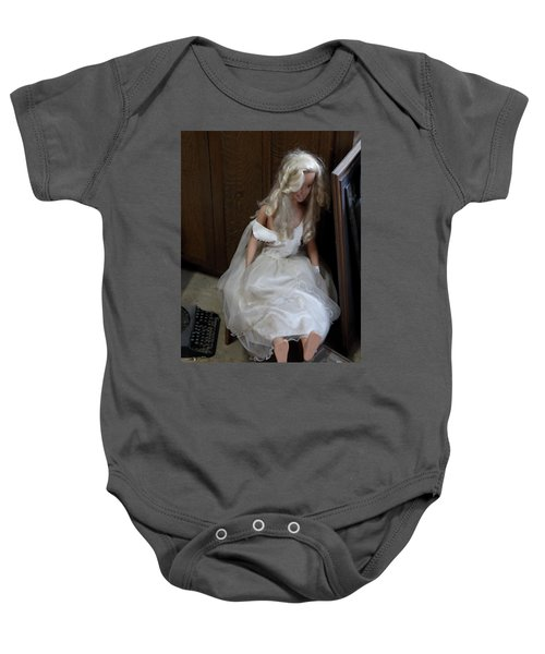 Sitting Doll Baby Onesie