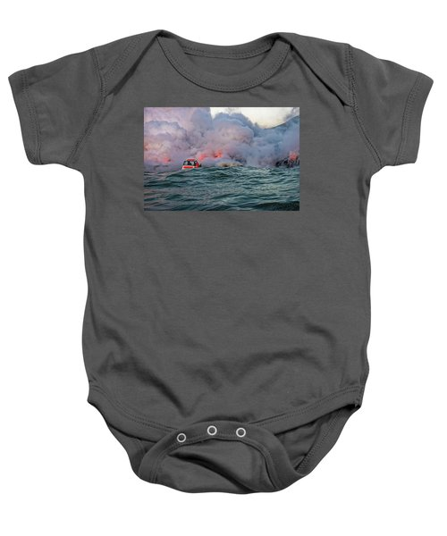 Baby Onesie featuring the photograph Six Pac by Jim Thompson