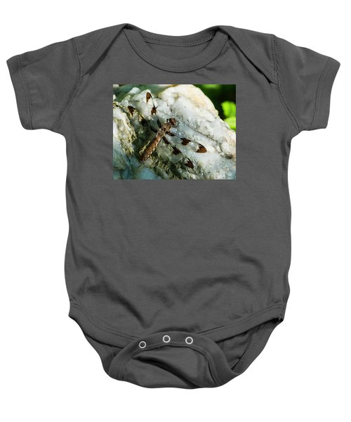 Six Spotted Dragonfly Baby Onesie