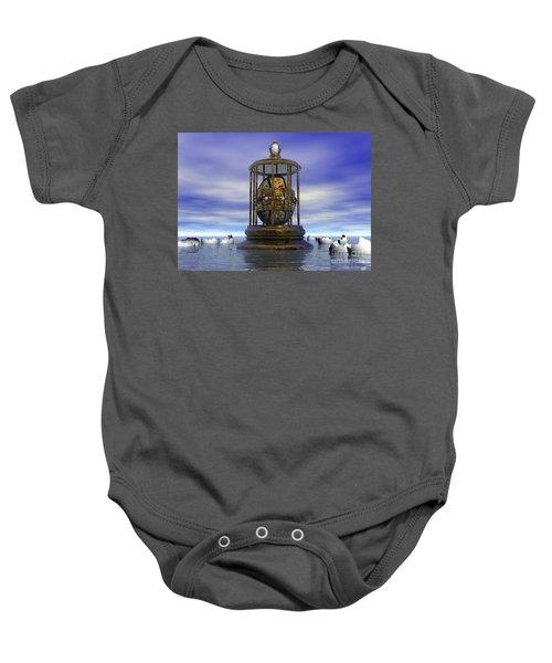 Sixth Sense - Surrealism Baby Onesie