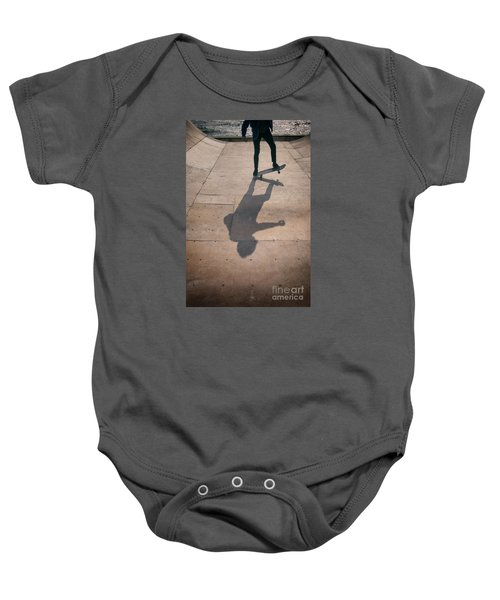 Skater Boy 002 Baby Onesie