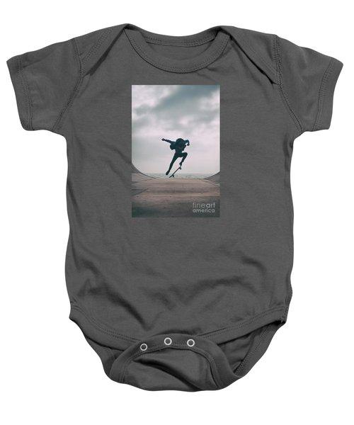 Skater Boy 004 Baby Onesie