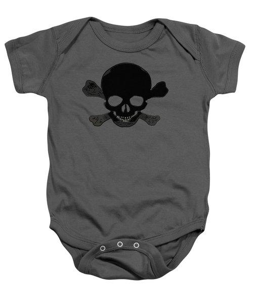 Skull Madness Baby Onesie