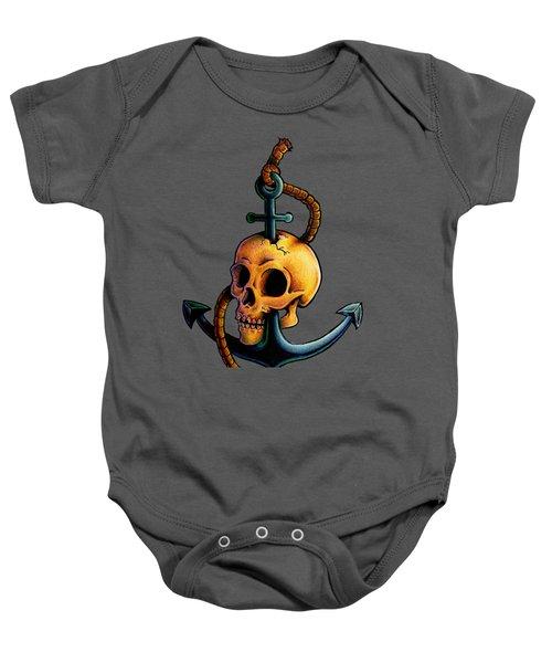 Skullchor Baby Onesie