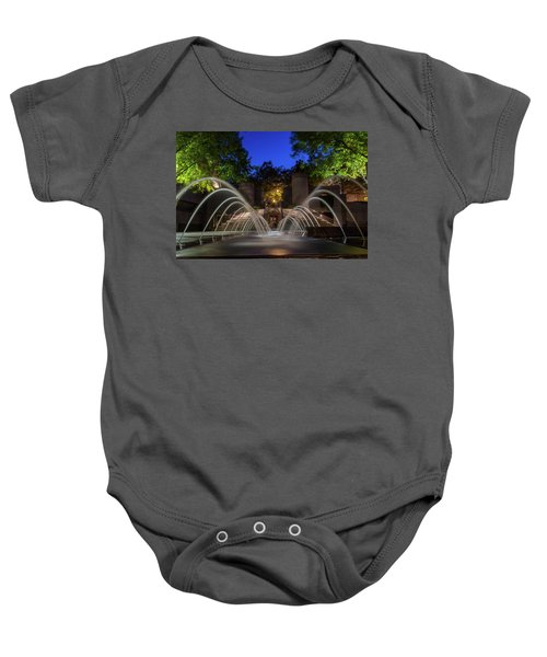 Small Fountain Baby Onesie
