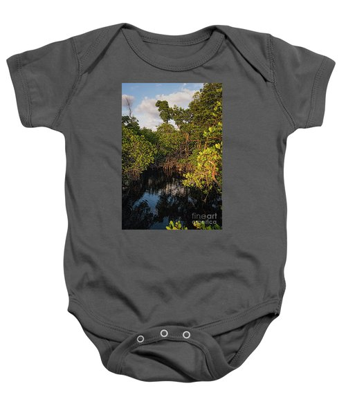 Small Waterway In Vitolo Preserve, Hutchinson Isl  -29151 Baby Onesie
