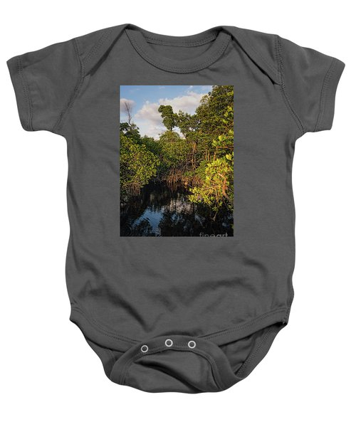 Small Waterway In Vitolo Preserve, Hutchinson Isl  -29151 Baby Onesie