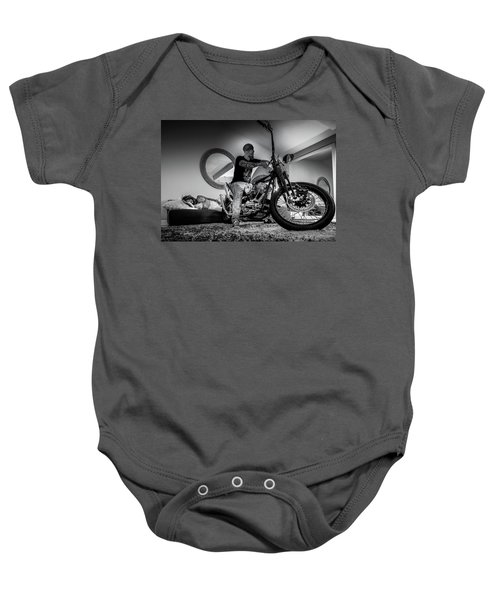 Smile Of Approval- Baby Onesie