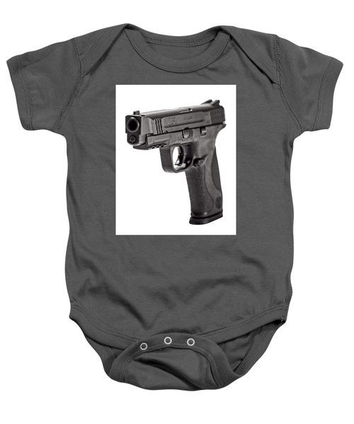Smith And Wesson Handgun Baby Onesie