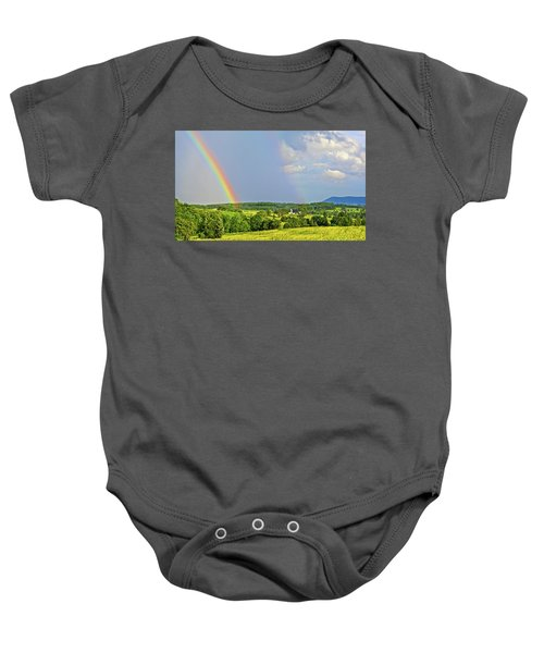 Smith Mountain Lake Rainbow Baby Onesie
