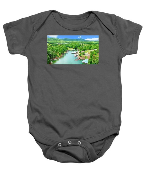 Smith Mountain Lake, Virginia. Baby Onesie